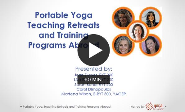 Portable Yoga: Teaching Retreats and Training Programs Abroad