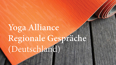 Yoga Alliance regionale Gespräche (Deutschland)
