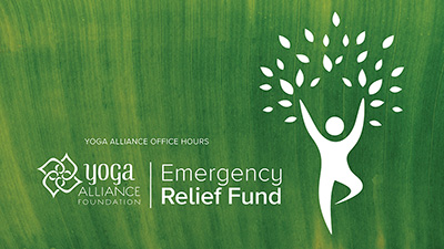 Yoga Alliance Office Hours| Emergency Relief