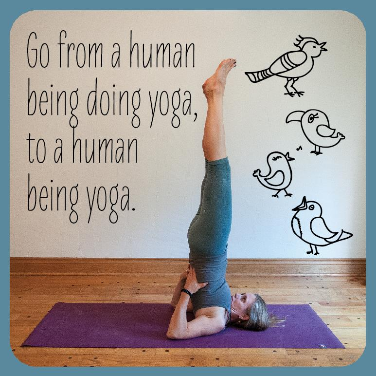 do yoga, be yoga