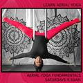 Join Char Willingham for Aerial Yoga:  Beginners