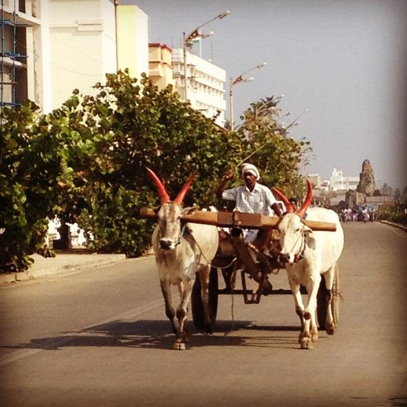 Average commute in Pondicherry