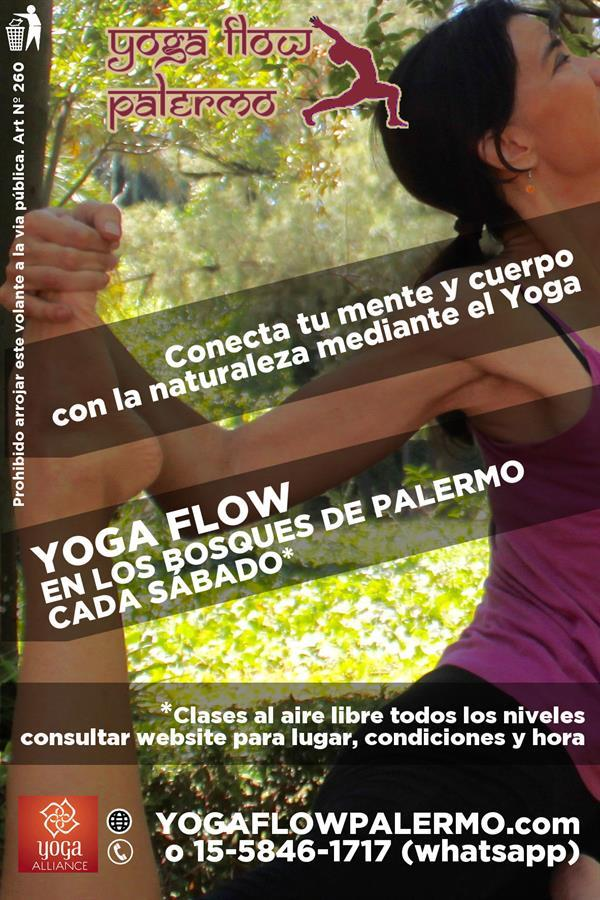 Flyer Yoga in Argentina 2016