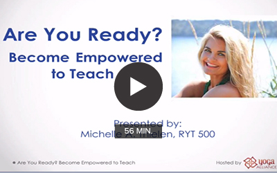 Are Your Ready? Become Empowered to Teach