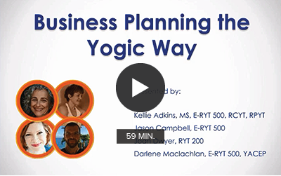 Panel Discussion: Business Planning the Yogic Way