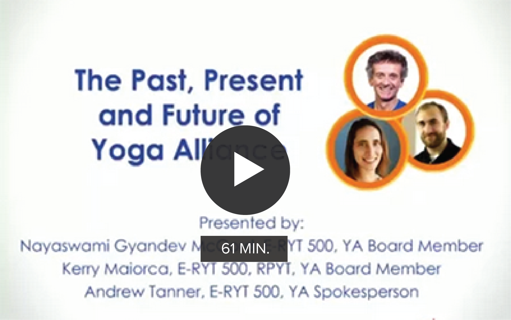 The Past, Present and Future of Yoga Alliance