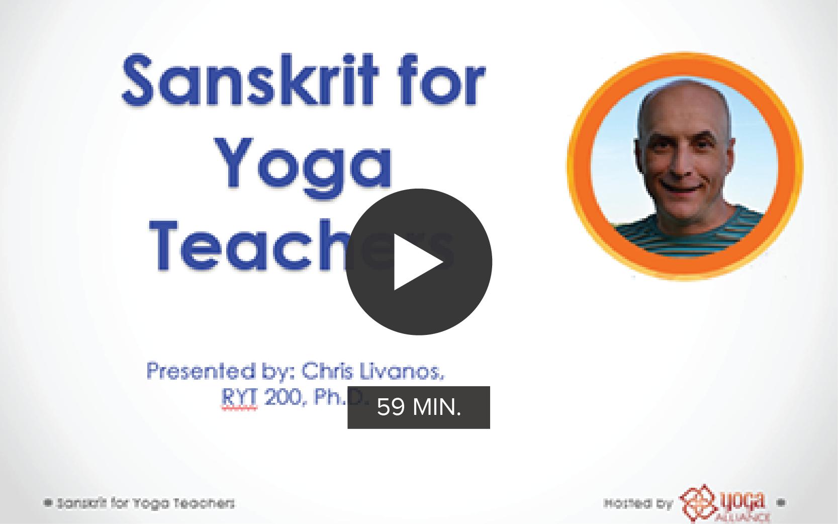 Sanskrit for Yoga Teachers