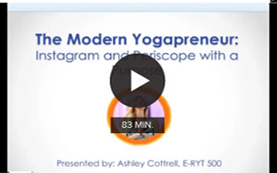 The Modern Yogapreneur: Instagram & Periscope with a Purpose