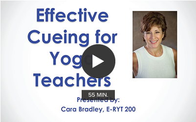 Effective Cueing for Yoga Teachers