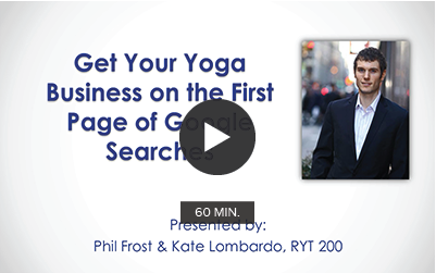 CE Workshop | Get Your Yoga Business on the First Page of Google Searches