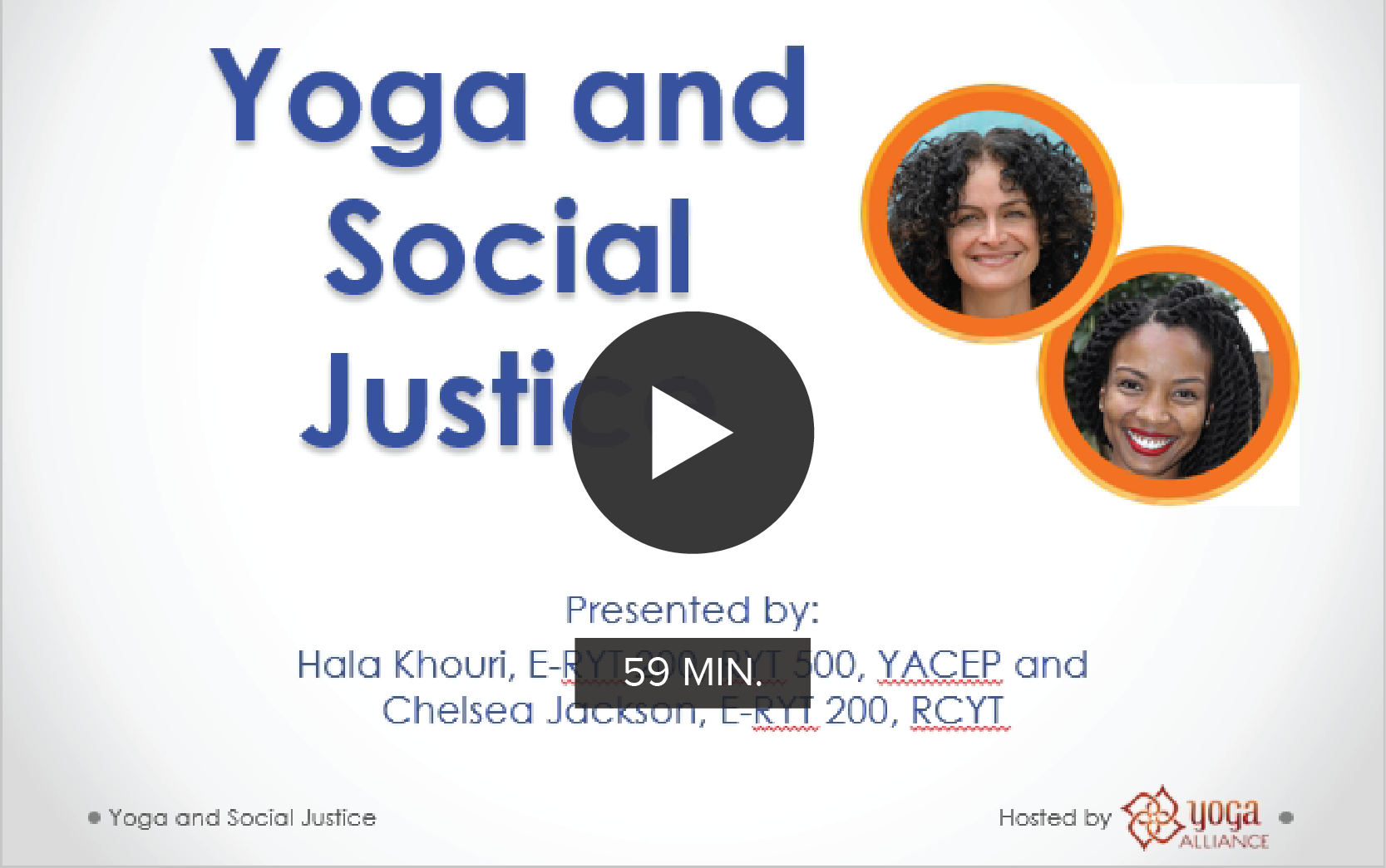 CE Workshop | Yoga and Social Justice