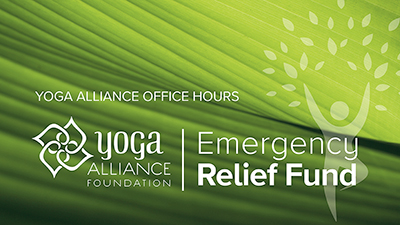 Yoga Alliance Office Hours | Emergency Relief Fund Update