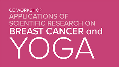 CE Workshop | Applications of Scientific Research on Breast Cancer